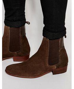 Hudson London   Замшевые Ботинки Челси Watts Коричневый