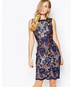 Body Frock | Кружевное Платье С Нижним Слоем Бронзового Цвета Nancy