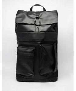 Dark Future | Рюкзак Из Искусственной Кожи Черный