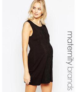 Ripe   Платье-Туника Для Беременных Maternity Sorrento Черный