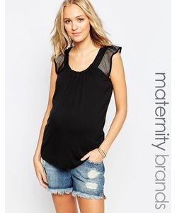 Ripe | Топ Для Беременных С Сетчатыми Вставками Maternity Jules