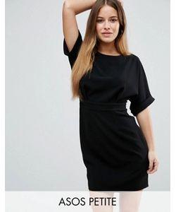 ASOS PETITE | Тканое Платье Мини С V-Образным Вырезом Сзади