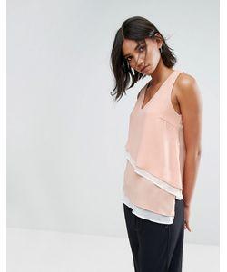 Vero Moda | Топ С V-Образным Вырезом И Асимметричным Краем