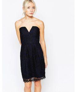 Adelyn Rae | Кружевное Платье Без Бретелей