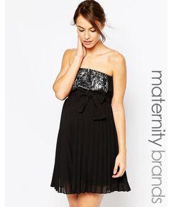 Ripe | Платье Без Бретелек Для Беременных С Отделкой Пайетками Maternity Sophie