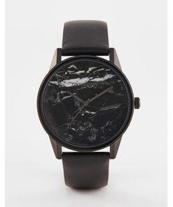 UNKNOWN | Черные Часы Urban Marble Черный