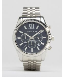 Michael Kors | Серебристые Часы С Хронографом Mk8280 Lexington Серебряный