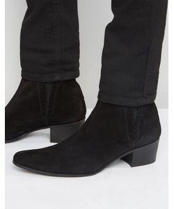Jeffery west | Замшевые Ботинки Челси Черный
