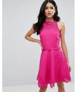 Ted Baker | Короткое Приталенное Платье Zaffron
