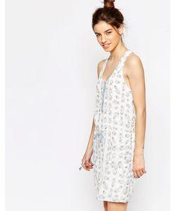 Greylin | Платье Без Рукавов С Поясом-Завязкой