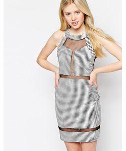 Max C London | Платье С Сетчатыми Вставками Max C