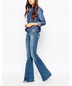 Mih Jeans | Расклешенные Джинсы M.I.H Jeans Marrakesh Синий