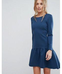 Closet London | Платье С Длинными Рукавами И Расклешенным Краем Closet