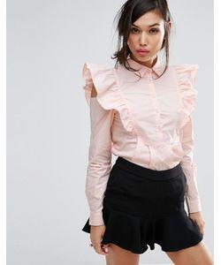 Fashion Union | Рубашка С Отделкой На Рукавах