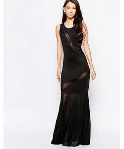Key Collections | Платье Макси С Прозрачными Вставками Ashley Roberts Специально Для Key