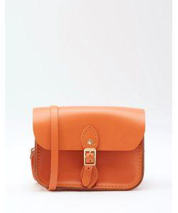 Cambridge Satchel Company | Миниатюрная Оранжевая Сумочка Из Натуральной Кожи The Cambridge Satche