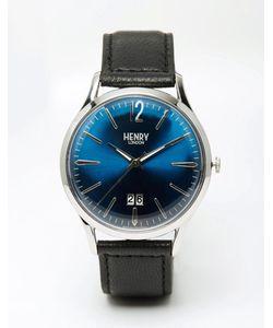 Henry London   Часы С Кожаным Ремешком Knightsbridge Черный