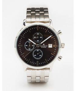 Accurist | Серебристые Часы Из Нержавеющей Стали Contemporary Серебряный