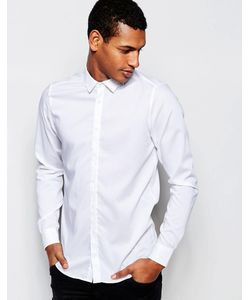 Vito | Приталенная Рубашка Белый
