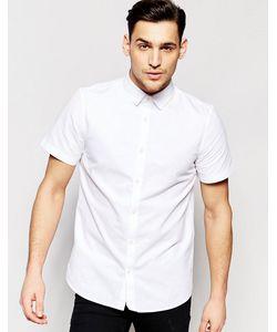 Jack Wills | Рубашка Классического Кроя С Короткими Рукавами Белый