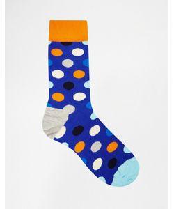 Happy Socks | Носки В Крупный Горошек