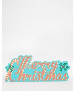 Temerity Jones | Пластина С Надписью Merry Christmas
