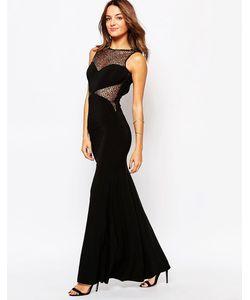Little Black Dress | Платье Макси С Кружевными Вставками Jennifer
