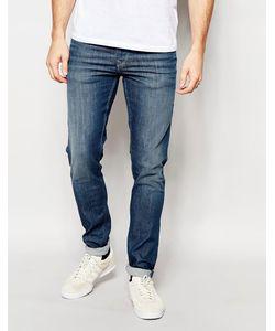 Pepe Heritage | Синие Суперстретчевые Джинсы Pepe Jeans Powerflex Finsbury Синий
