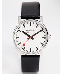 Mondaine | Кварцевые Часы На Кожаном Ремешке Evo