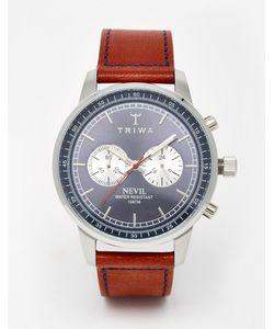 Triwa | Часы-Хронограф С Кожаным Ремешком Nevil
