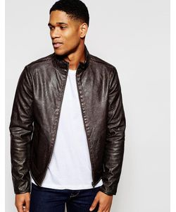 GAS Jeans | Двусторонняя Куртка Из Искусственной Кожи Gas Зеленый