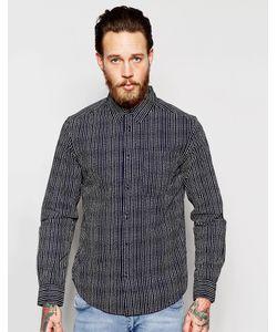 Wrangler | Рубашка Классического Кроя С Принтом В Полоску И Длинными Рукавами