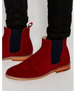 Bobbies | Замшевые Ботинки Челси Lhorloger Красный