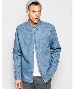Waven | Голубая Джинсовая Рубашка Классического Кроя В Стиле Вестерн Alf Quarry