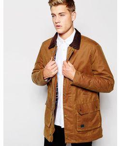 Brixtol | Вощеная Куртка С Вельветовым Воротником