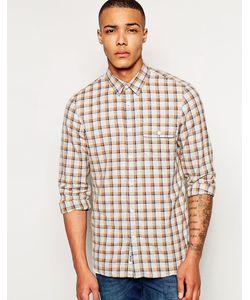 Jack Wills | Фланелевая Рубашка Glazebrook Бежевый