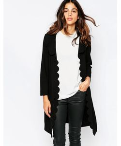 Jovonna Premier | Пальто С Фигурными Краями Naomi