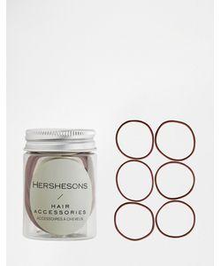 Hersheson | Резинки Для Волос S Коричневый