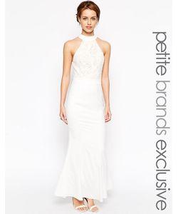 Jarlo Petite | Платье-Халтер С Вышивкой Verity Белый