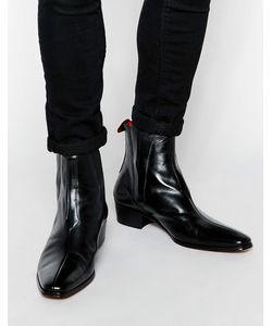 Jeffery west | Кожаные Ботинки Челси Черный