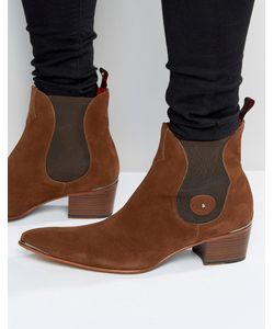 Jeffery west | Замшевые Ботинки Челси Коричневый
