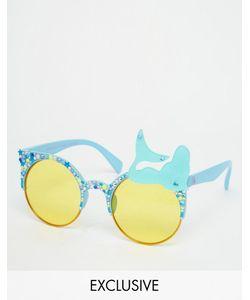 Spangled | Солнцезащитные Очки С Желтыми Стеклами Mermaid