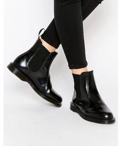 Dr. Martens | Черные Ботинки Челси Dr Martens Kensington Flora Черный