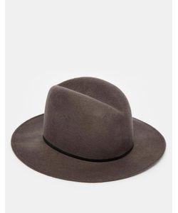 Catarzi | Мягкая Фетровая Шляпа С Широкими Полями