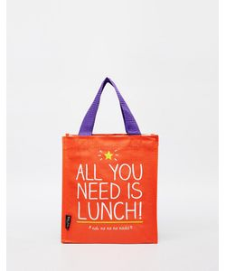 Happy Jackson | Сумка Для Ланча С Принтом All You Need Is Lunch Happy