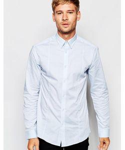 Selected Homme | Рубашка Слим С Добавлением Эластичных Волокон Светло-Голубой