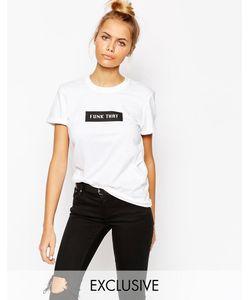 Adolescent Clothing | Футболка С Принтом Funk That