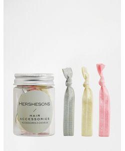 Hersheson | Резинки Для Волос S Beauty To Go Розовый Серый Кремовый