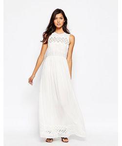 harlyn | Платье Макси С Люверсами