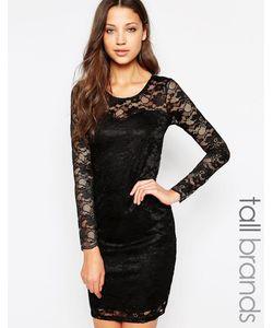 Vero Moda Tall | Кружевное Облегающее Платье Мини
